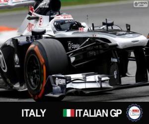 puzzel Valtteri Bottas - Williams - Monza, 2013
