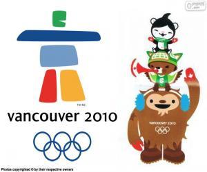 puzzel Vancouver 2010 Olympische Winterspelen