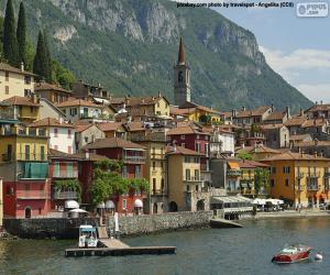 puzzel Varenna, Italië