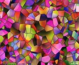 puzzel Veelhoeken van kleuren