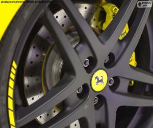 puzzel Velg voor Ferrari