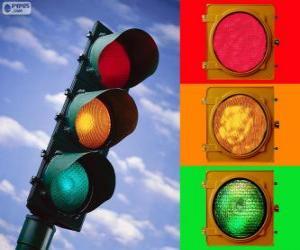 puzzel Verkeerslicht