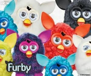 puzzel Verschillende Furbys