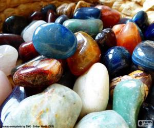 puzzel Verschillende mineralen