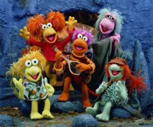 puzzel Verschillende Muppets zingen