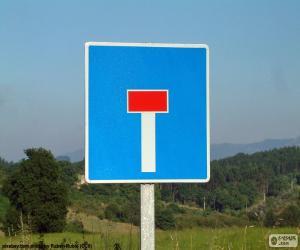 puzzel Verticale borden niet langs de weg