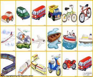 puzzel Vervoermiddel
