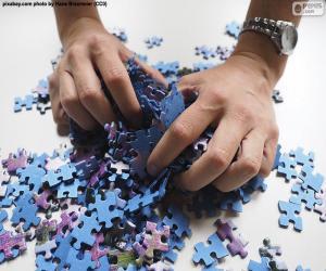 puzzel Verwisselt de stukjes van de puzzel