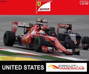 puzzel Vettel, Grand Prix van de Verenigde Staten 2015