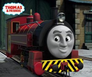 puzzel Victor is de manager van de Sodor Steamworks