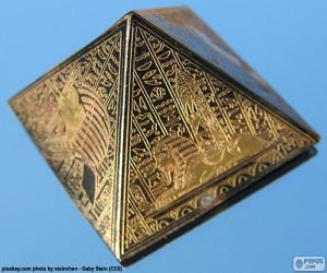 puzzel Vierkante gebaseerde piramide