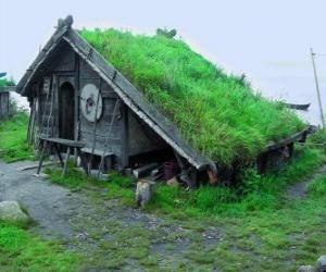 puzzel Viking Huis