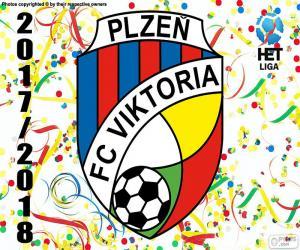 puzzel Viktoria Plzen, HET League 2017-18