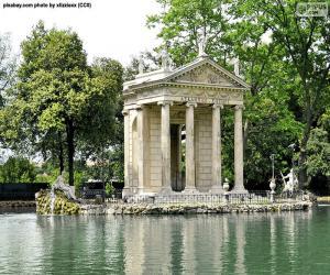 puzzel Villa Borghese, Rome