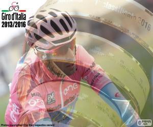 puzzel Vincenzo Nibali, Ronde van Italië 2016