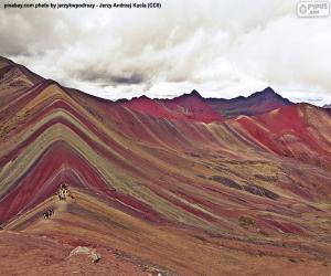 puzzel Vinicunca, Peru