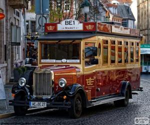 puzzel Vintage bus