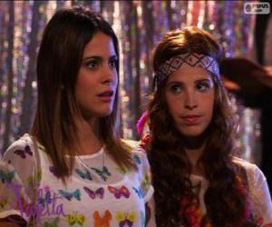 puzzel Violetta en Camila