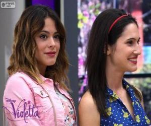 puzzel Violetta en Francesca