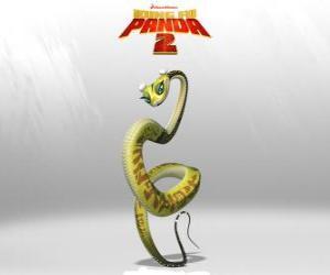 puzzel Viper is een ongelooflijk snelle krijger die in staat het verslaan van de meest angstaanjagende vijand