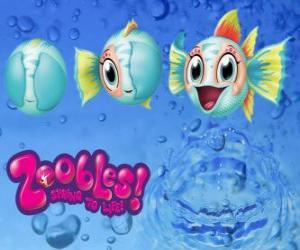 puzzel Vis, Zoobles van Seagonia