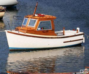 puzzel Vissersboot