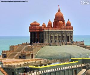 puzzel Vivekananda Rock Memorial, India
