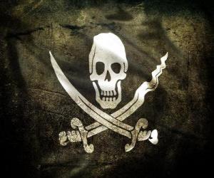 puzzel Vlag piraat