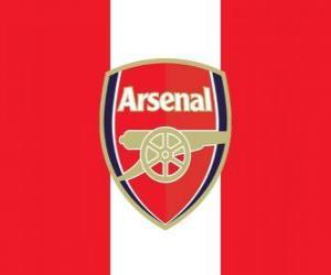 puzzel Vlag van Arsenal FC