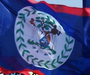 puzzel Vlag van Belize