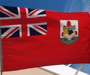 puzzel Vlag van Bermuda