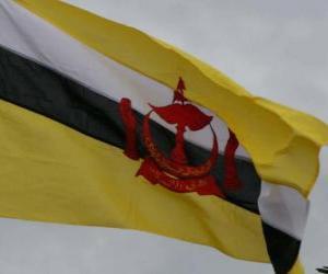 puzzel Vlag van Brunei
