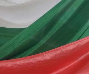 puzzel Vlag van Bulgarije