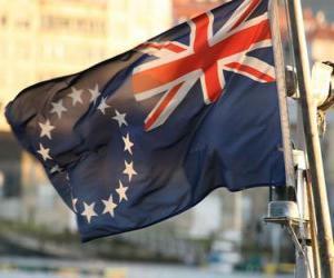puzzel Vlag van Cook Islands