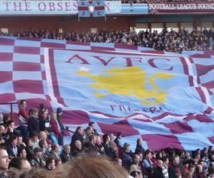 puzzel Vlag van de Aston Villa FC