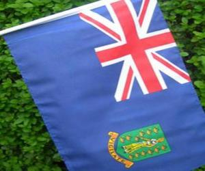 puzzel Vlag van de Britse Maagdeneilanden