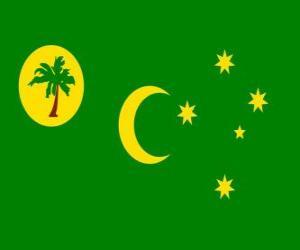 puzzel Vlag van de Cocoseilanden