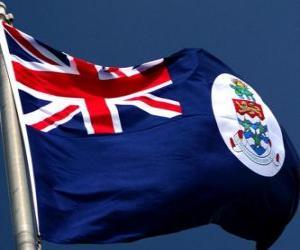 puzzel Vlag van de Kaaimaneilanden
