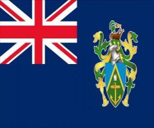 puzzel Vlag van de Pitcairneilanden