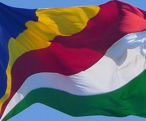 puzzel Vlag van de Seychellen