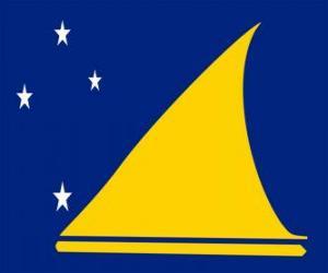 puzzel Vlag van de Tokelau