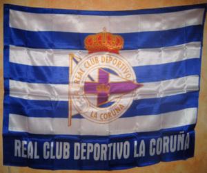 puzzel Vlag van Deportivo de La Coruña