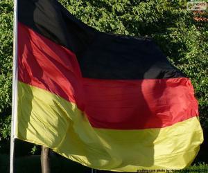 puzzel Vlag van Duitsland