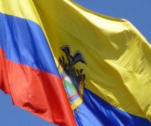 puzzel Vlag van Ecuador