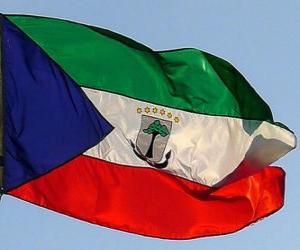 puzzel Vlag van Equatoriaal-Guinea