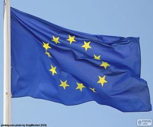 puzzel Vlag van Europa