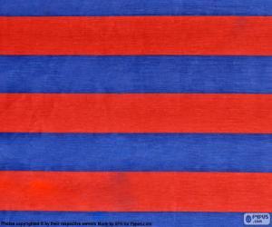 puzzel Vlag van FC Barcelona