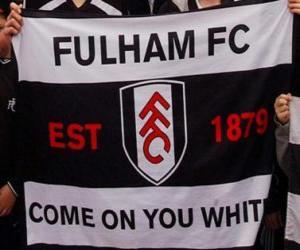 puzzel Vlag van Fulham FC