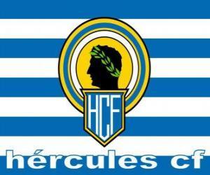 puzzel Vlag van Hércules CF