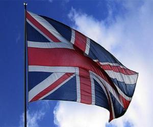 puzzel Vlag van het Verenigd Koninkrijk, het Verenigd Koninkrijk of Groot-Brittannië
